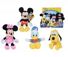 simba Set 4 Peluches Disney - Mickey y sus amigos 20 cm