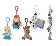 simba Disney Frozen Schlüsselanhänger, 4-sort.
