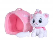 simba Disney Marie and Carry Case, 20cm
