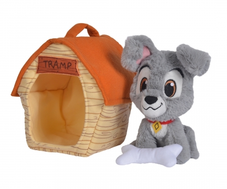 simba Disney Tramp and Kennel, 20cm