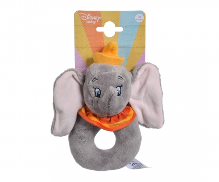 simba Disney Dumbo Ring Rattle, 18cm