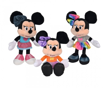 simba Disney Minnie Fashion, 25cm, 3-ass.
