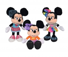 simba Disney Minnie Fashion, 25cm, 3-sort.