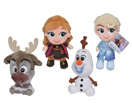 simba Disney Frozen 2, Chunky, 15cm, 4-sort.