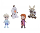 simba Set 4 Peluches Frozen 2 - 20 cm