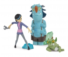 simba Figuras Claire, Blinky y Notenrique
