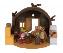 simba Playset Casa del Oso con 2 figuras y accesorios