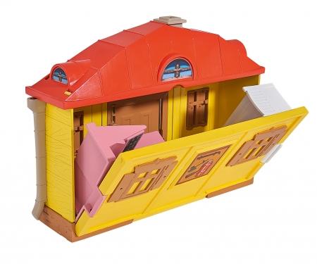 simba Playset Casa de Masha con figura Masha y accesorios