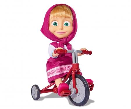 simba Muñeca Masha 12cm con triciclo