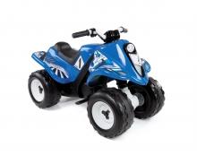 Čtyřkolka Quad Rallye modrá, s baterií