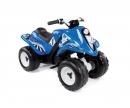 smoby Čtyřkolka Quad Rallye modrá, s baterií