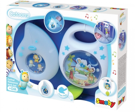 smoby COTOONS BIRTH SET ASST