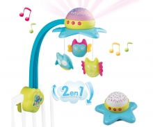 smoby Smoby Cotoons 2in1 Sternen-Mobile