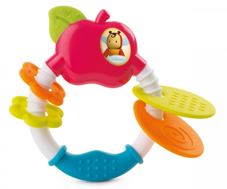 smoby COTOONS APPLE RATTLE