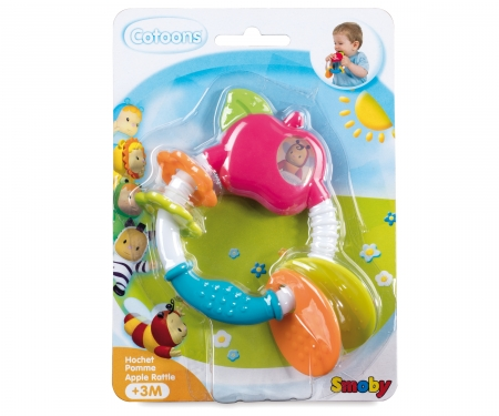 COTOONS APPLE RATTLE