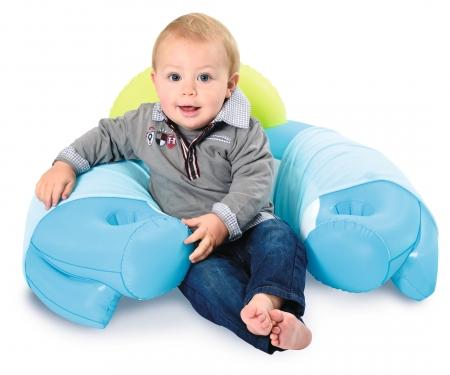 smoby Cotoons Baby-Sitz mit Activity-Tisch, blau