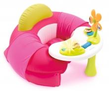 smoby Cotoons Baby-Sitz mit Activity-Tisch, rosa