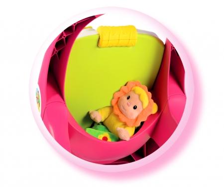Cotoons 2-in-1 Lauflernwagen + Spielstation, rosa