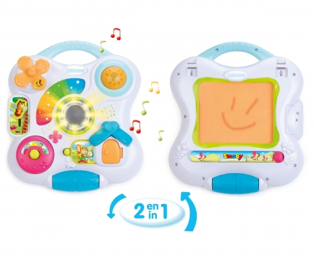 smoby COTOONS 2 IN 1 ACTIVITY BOARD