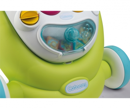 smoby Smoby Cotoons 2in1 Lauflernwagen & Spielstation