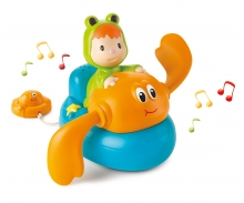 smoby Cotoons Musikalische Badekrabbe