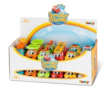 smoby Vroom Planet Themen Mini-Flitzer im Display