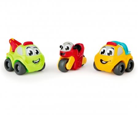 smoby VP Mini autíčka 3ks, 3 druhy