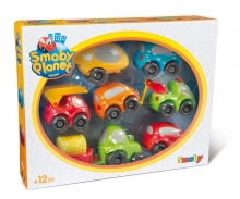 smoby Vroom Planet Mini-Flitzer, Collector Box