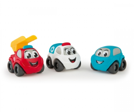 smoby VP 3 VEHICLES IN GIFT BOX