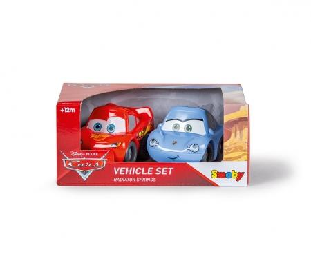 smoby VP Dvě autíčka Cars 2 v dárkovém balení, 2 druhy
