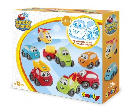 smoby Smoby Vroom Planet Mini-Flitzer Collector Box