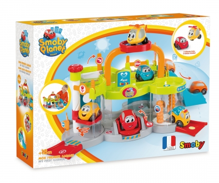 smoby Vroom Planet Multi-Garage