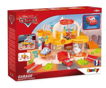 smoby Vroom Planet Cars Garage