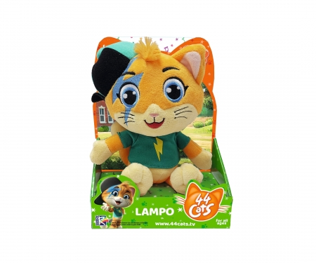 smoby 44 CHATS PELUCHE MUSICALE LAMPO