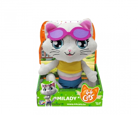 smoby 44 CHATS PELUCHE MUSICALE MILADY