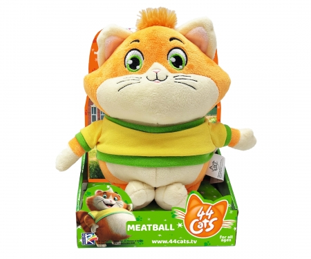 smoby 44 CATS MUSICAL PLUSH MEATBALL