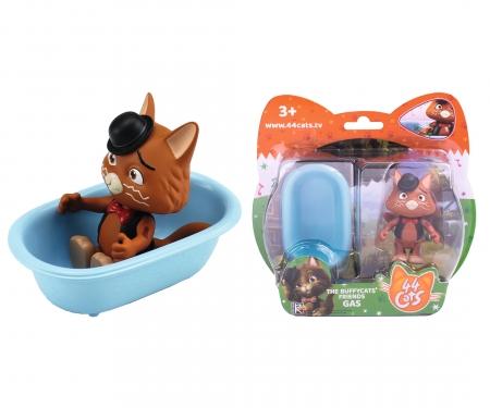 smoby 44 Cats Spielfigur Stink mit Badewanne