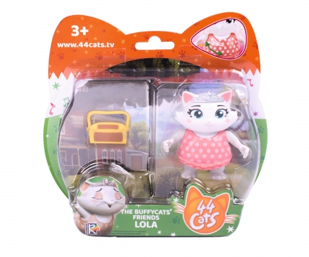 smoby 44 CATS FIG LOLA + RADIO
