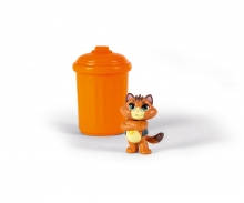 smoby 44 Cats Sammelfigur + Tonne, im Display