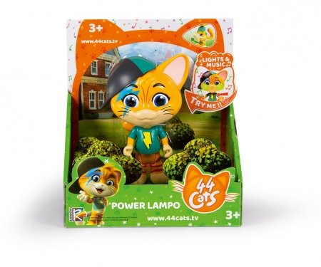 """44 CATS 6"""" MUSIC POWER FIG LAMPO"""
