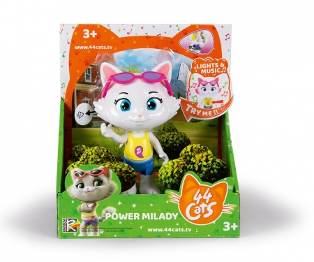 "smoby 44CATS 6"" MUSIC POWER FIG MILADY"