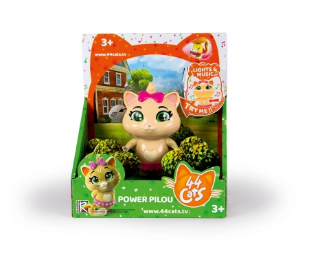 "smoby 44 CATS 6"" MUSIC POWER FIG PILOU"