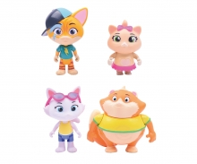 smoby 44 Cats 2 Superpower-Spielfiguren, sortiert