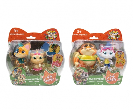 smoby 44 CATS SET 2 DECO FIG ASST