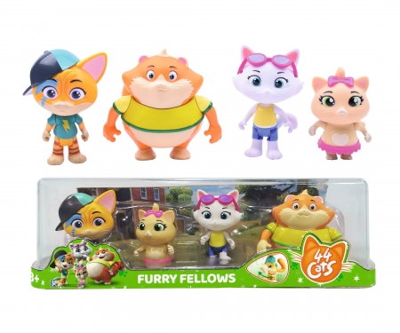 smoby 44 CATS SET OF 4 FIGURINES