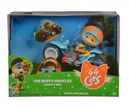 smoby 44 CATS VEHICLE + LAMPO