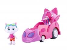 44 Cats Spielfigur Milady mit Auto