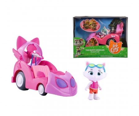 smoby 44 CATS VEHICLE + MILADY
