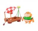 smoby 44 Cats Spielfigur Metti mit Holzboot