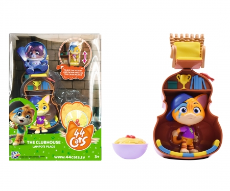 smoby 44 CHATS DELUXE PLAYSET/LAMPO